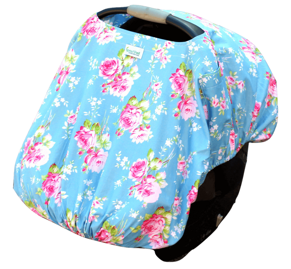 Floral Fantasy Carrier Cover