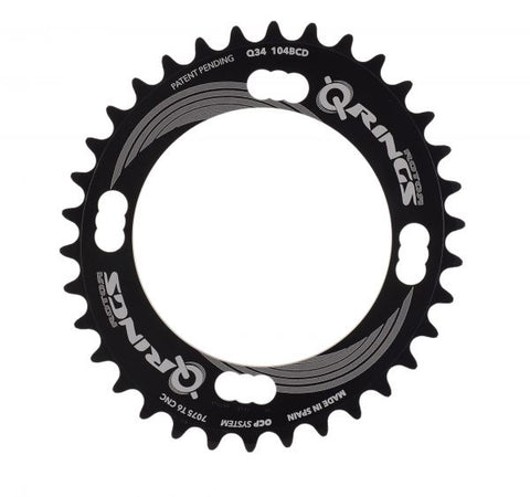 34t 104bcd Single Speed Q-Ring