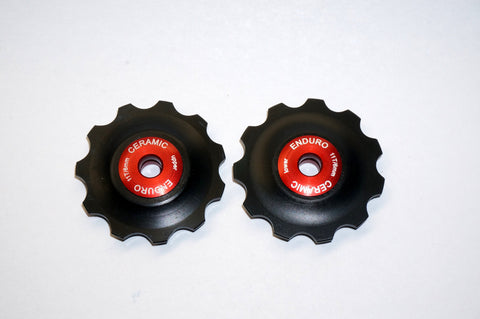 SRAM X.O 9 Speed Ceramic Rear Derailleur Jockey Wheels