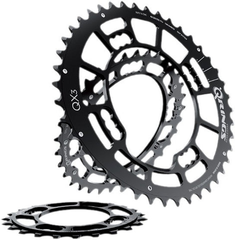 QX3 Q-Ring MTB Chainrings BCD 104/64 x 4