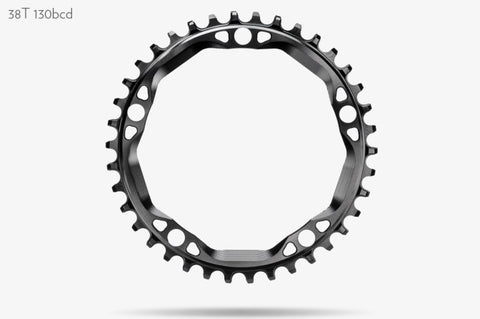 Round CX1 130x5 Chainrings