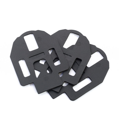 Shoe Plate Wedges (for Carbon and CRM Pedals) - 5 pairs