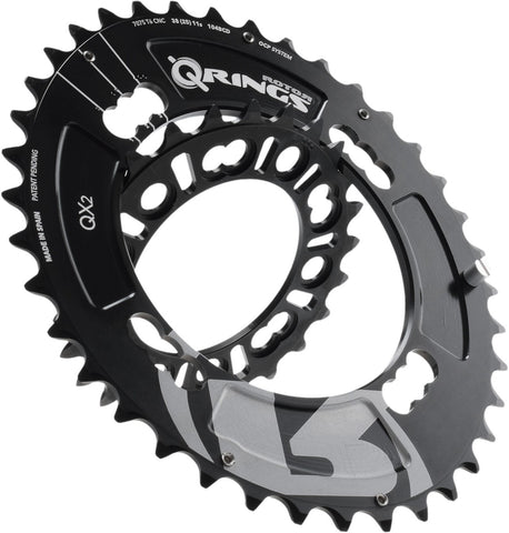 QX2 Q-Ring MTB Chainrings - 104/64 BCD