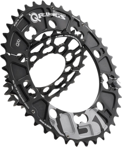 QX2 Q-Ring MTB Chainrings - 110/60 BCD