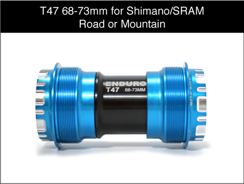 T47 for 24mm Cranks