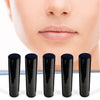 100 Pack Empty Lip Balm Tubes Containers- Black