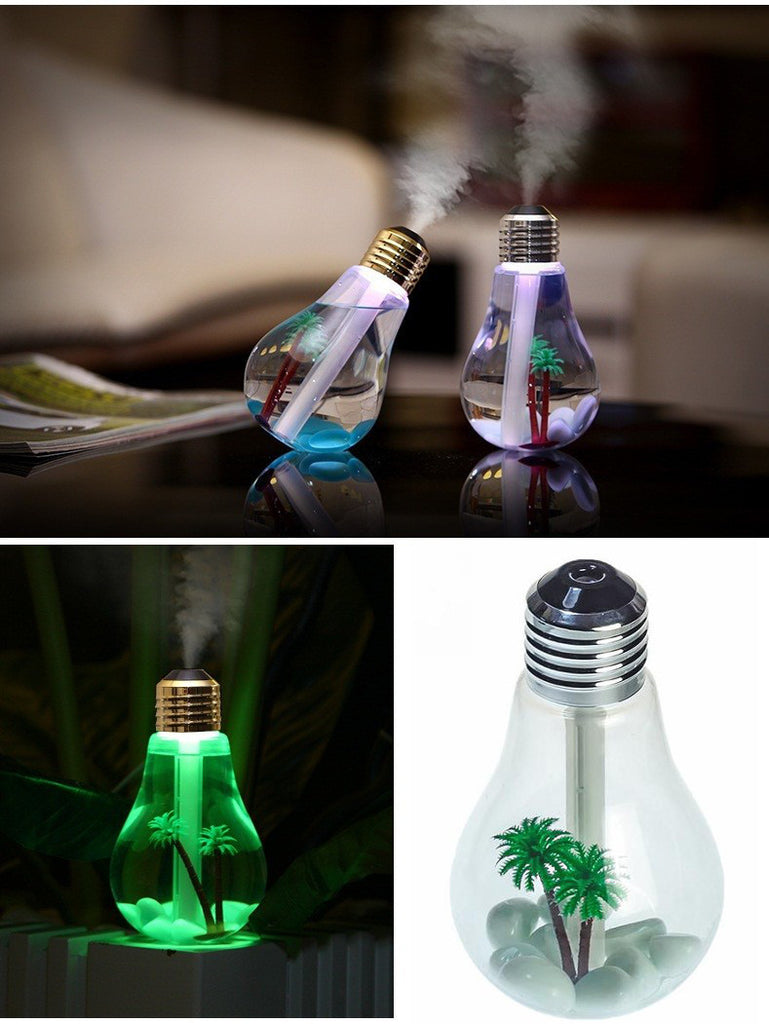 Personal Light Bulb Humidifier Diffuser