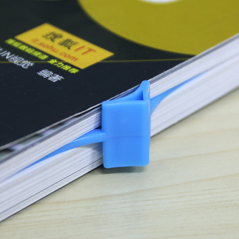 Convenient Thumb Book Holder and Bookmark