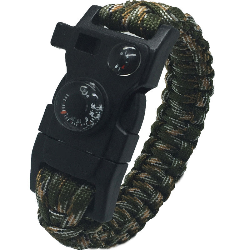 15 in1 Paracord Survival Bracelet Free