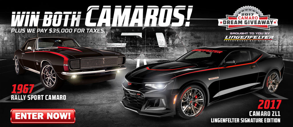 Come See Both Legendary Camaros Featured In the 2017 Camaro Dream Giveaway at the 22nd Amelia Island Concours d'Elegance!