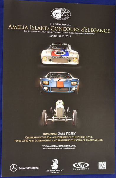 2013 Amelia Island Concours d'Elegance Promotional Poster