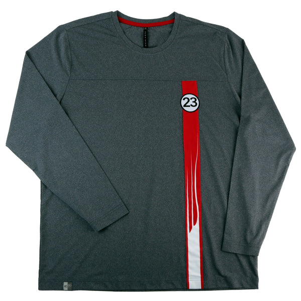 Men's Limited Edition Salzburg Porsche 917 Le Mans winner Amelia Concours Long Sleeve Tech Tee