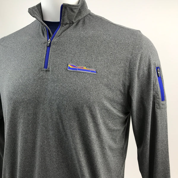 Men's Limited Edition Sunoco Porsche 917/30 Amelia Concours 1/4 Zip Long Sleeve Tech Pullover