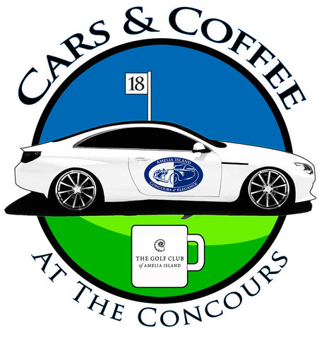 CARS & COFFEE AT THE CONCOURS RAFFLE