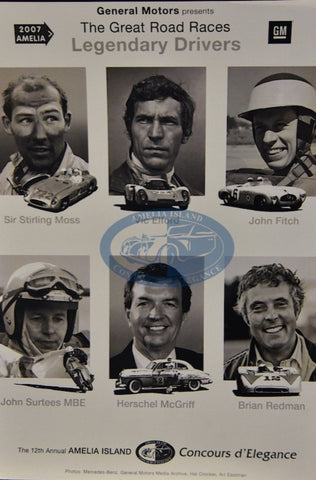 The Great Road Races Legendary Drivers Seminar Poster
