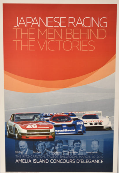Japanese Racing - The Men Behind the Victories Seminar Poster