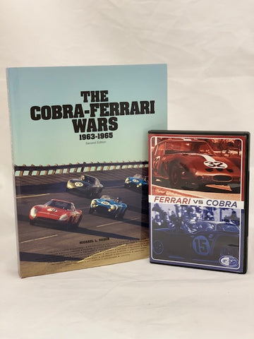 Amelia Exclusive - Book & DVD Bundle Deal - The Cobra-Ferrari Wars 1963-1965 Signed by the author  & The Ferrari vs Cobra 2012 Seminar DVD