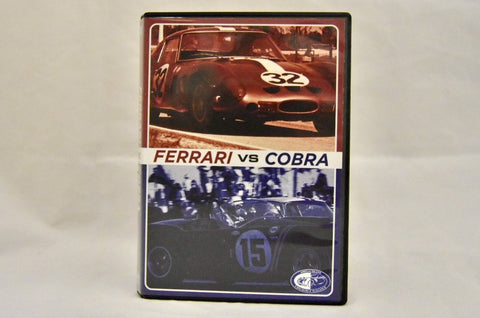 The Ferrari vs Cobra: The Battle for the World Championship for Sports Cars - 2012 Seminar DVD - Amelia Exclusive