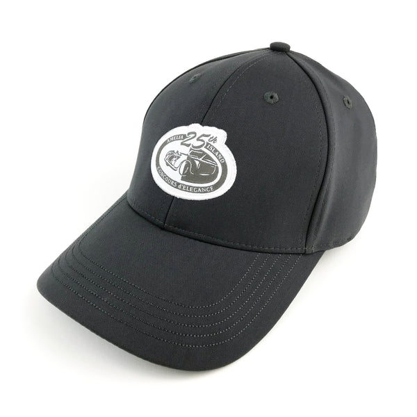25th Anniversary Amelia Island Concours d'Elegance Grey Commemorative Hat