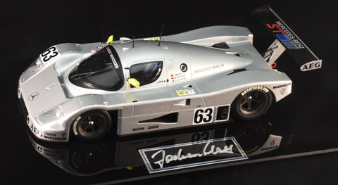 1989 Le Mans 24 Hours Winning Sauber C9 Autographed Model