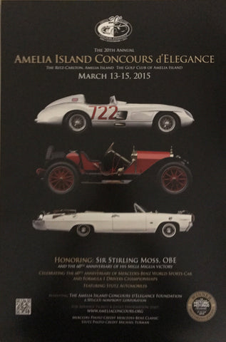 2015 Amelia Island Concours d'Elegance Advertising Poster