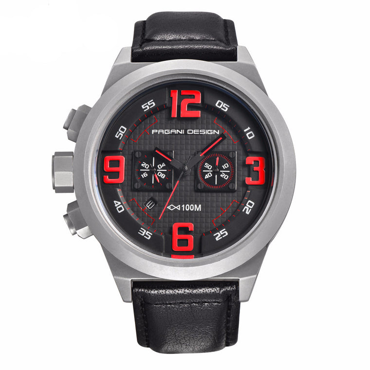 "PAGANI DESIGN ""CX-2652"" Quartz Racing Chronograph"