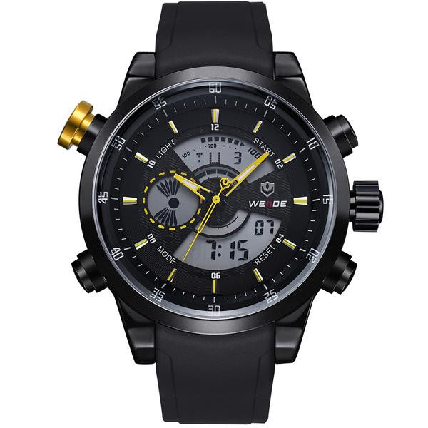 """Liverpool"" Quartz Analogue-Digital Display Sports Tachymeter"