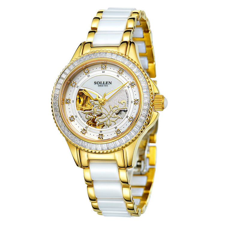 """Diva Infinity"" Self-Winding Lace Tourbillon Watch"