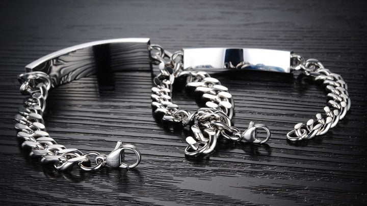 Stainless Steel Couples' Bracelets OGS709