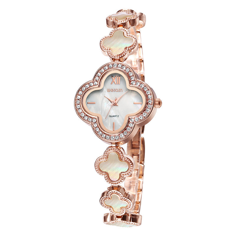 "WEIQIN ""The Crown"" Crystal Bracelet Quartz Watch"