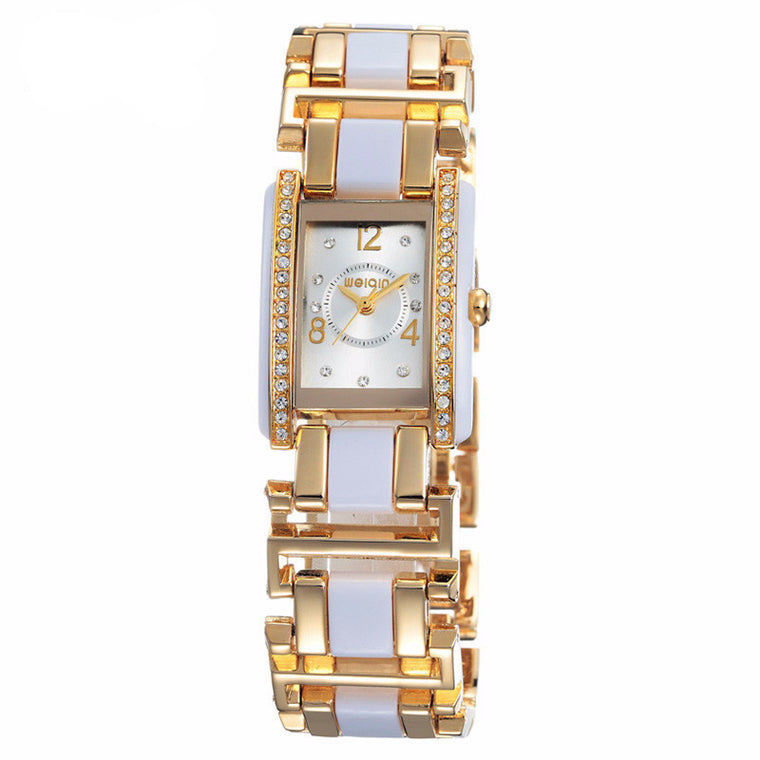 "WEIQIN ""The Hanover"" Crystal Bracelet Quartz Watch"