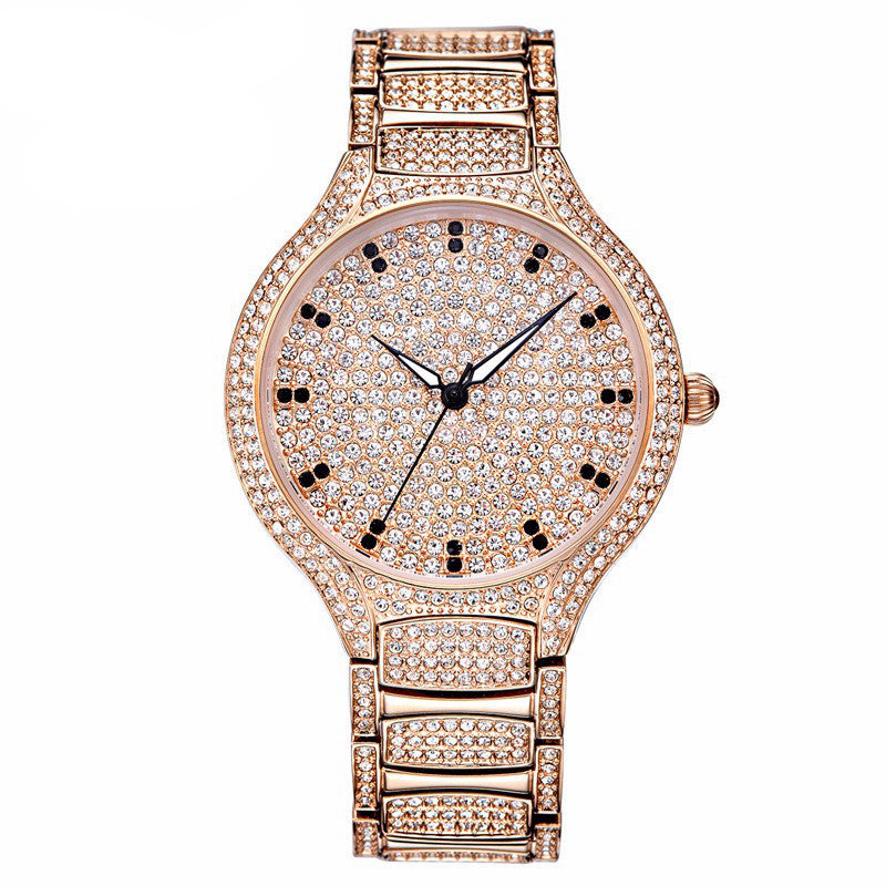 """Sparkler"" Swarovski Crystal Quartz Watch"