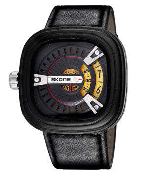 "SKONE ""Big Face"" Quartz Watch"