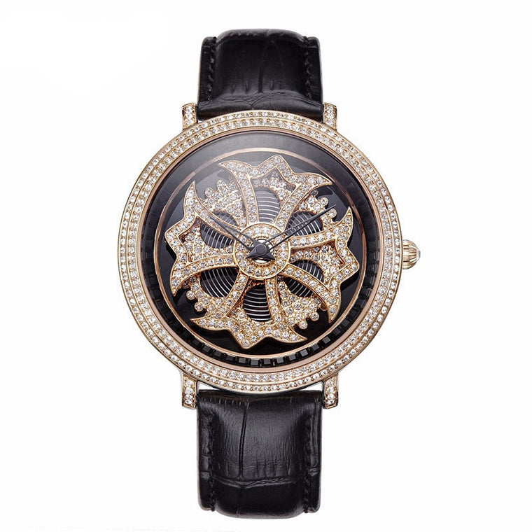 """Secret Wish"" Swarovski Crystal Quartz Watch"