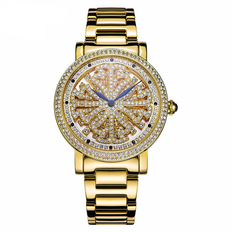 """Fantasia"" Swarovski Crystal Quartz Watch"