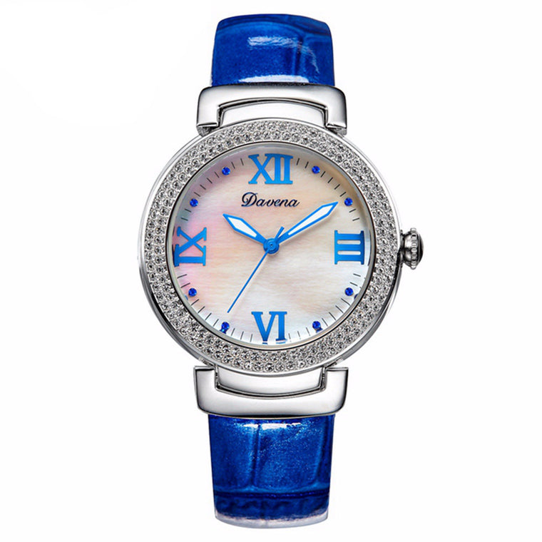 """Artemis"" Swarovski Crystal Quartz Watch"