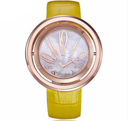 """Il Ritorno"" Swarovski Crystal Rotating Quartz Watch"