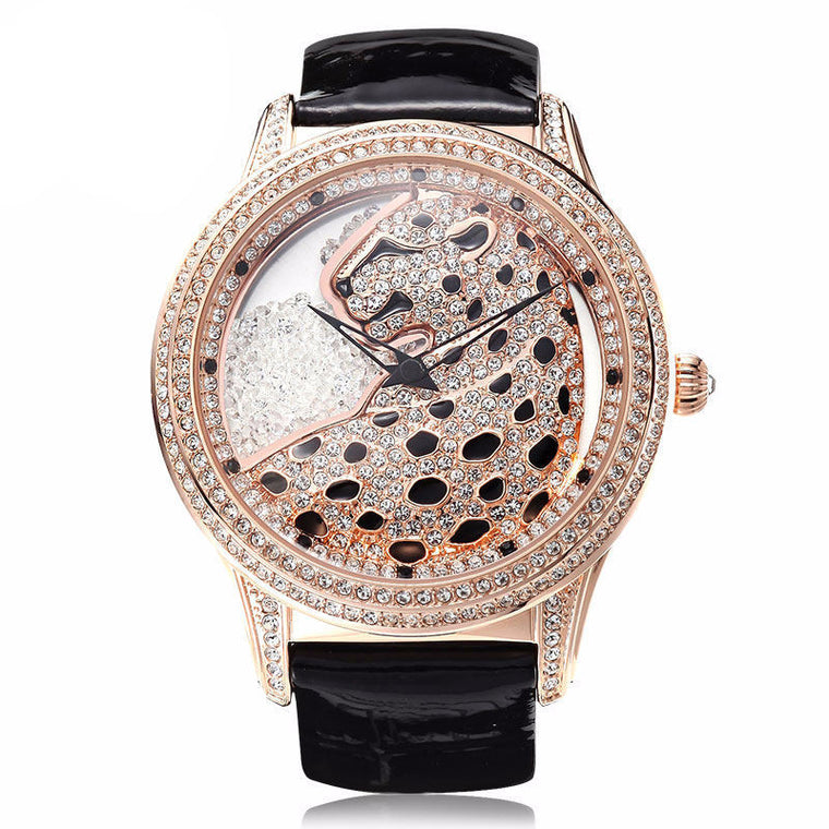 """Équateur"" Swarovski Crystal Quartz Watch"