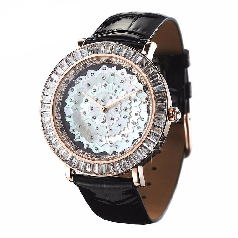 """Samsara"" Swarovski Crystal Quartz Watch"