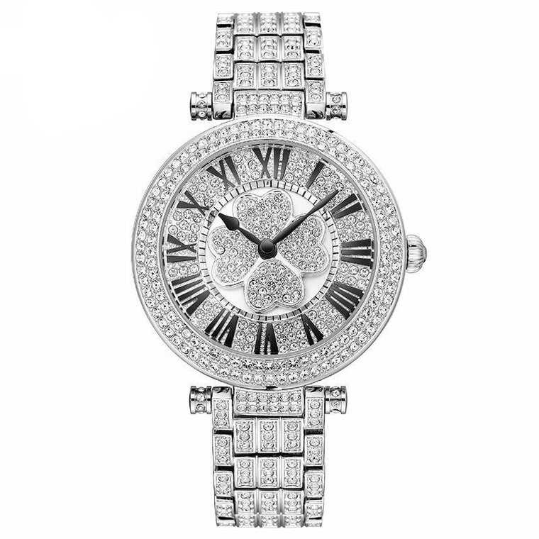"""Love In Crystal"" Swarovski Crystal Quartz Watch"