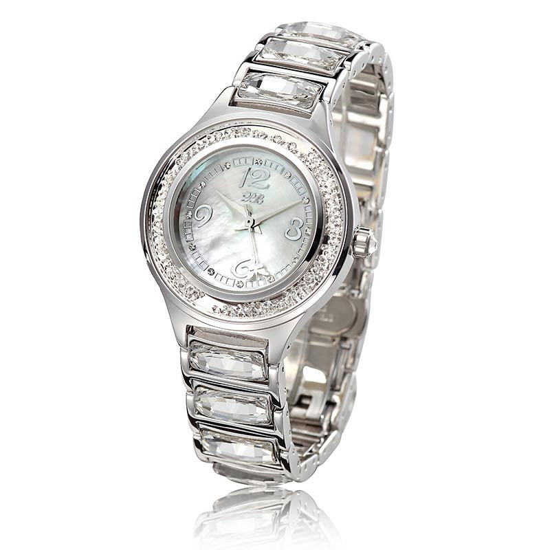 """Amarige"" Swarovski Crystal Quartz Watch"