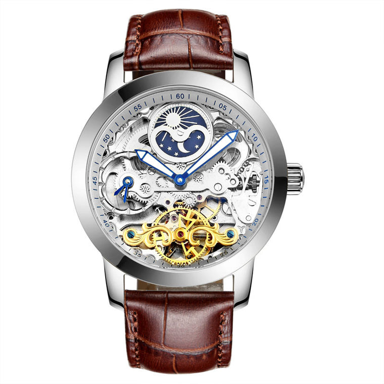 """Astrolabius"" Automatic Skeleton Watch"