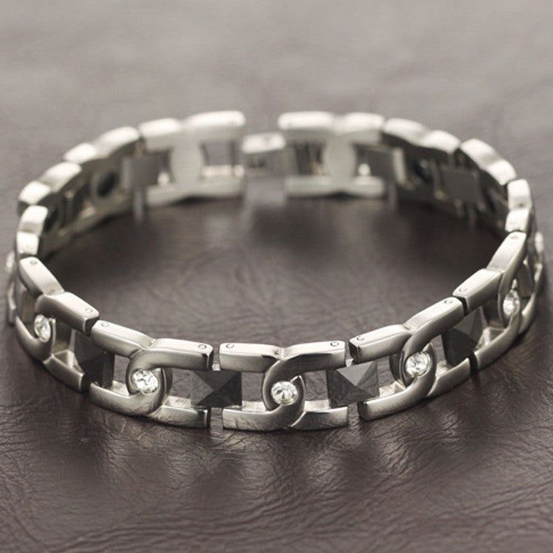 Stainless Steel Couples' Bracelets LGS3358