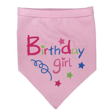 Doggie Trends Nyc Accessories Girl Dog Birthday Bandana