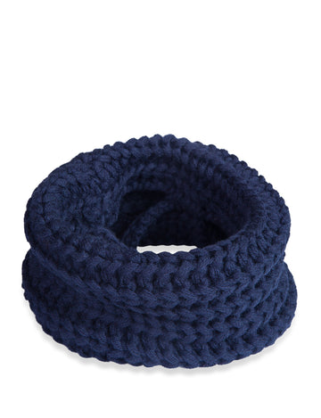 Doggie Trends Nyc Navy Infinity Dog Scarf