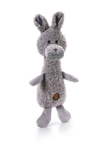 Doggie Trends Nyc toys Scruffles the Squeaky Bunny Large Dog Toy