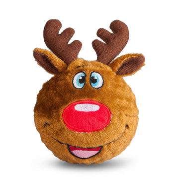 fabdog toys Reindeer Squeaky Ball