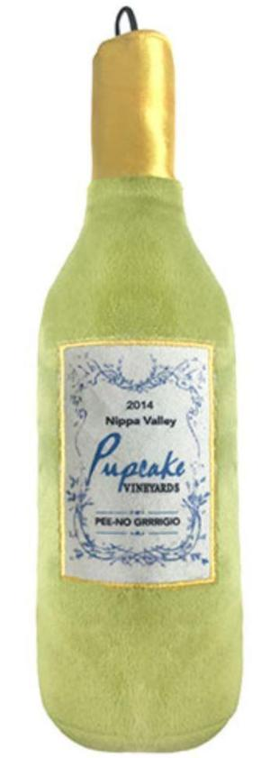 "haute ""Pupcake"" Squeaky Wine Bottle Doy Toy Small"