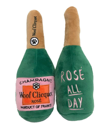 haute Rose Champagne Parody squeaky doy toy Small