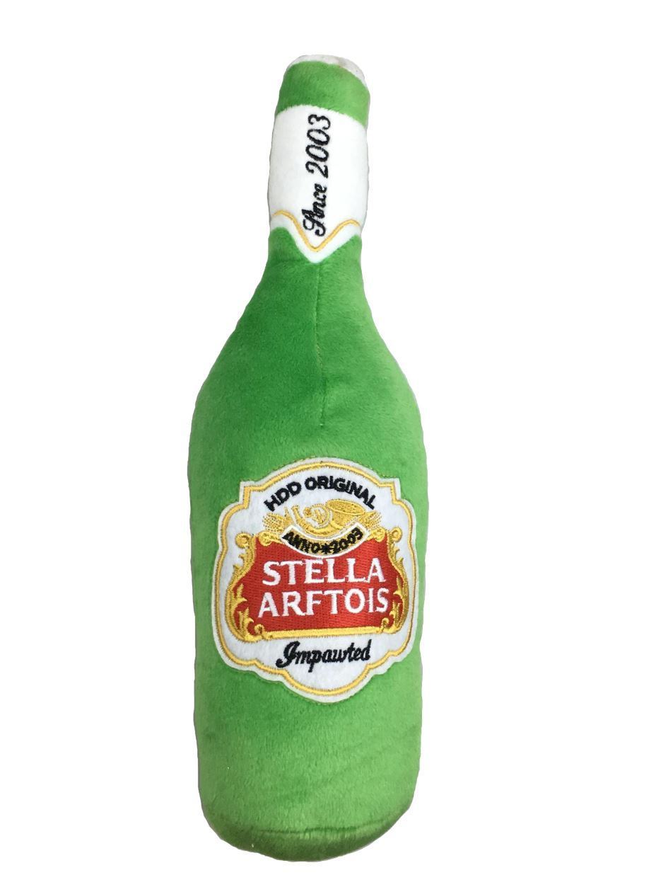 "haute ""Stella Arftois"" squeaky doy toy Large"